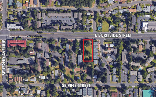 Vacant Land at 17526 E Burnside St, Gresham OR
