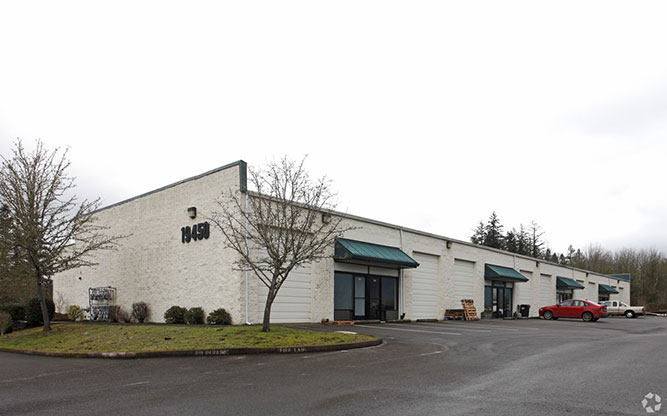 Industrial Building at 19450 SW Cipole Road, Tualatin OR
