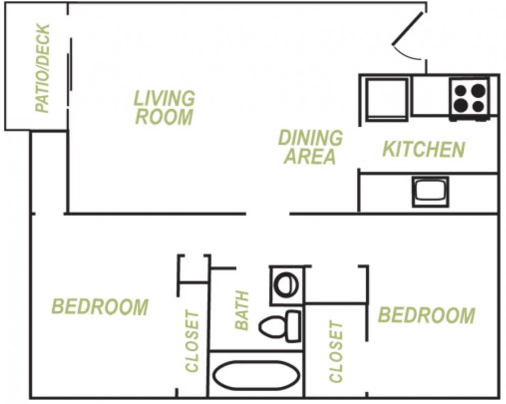 Allen Creek Floor Plan