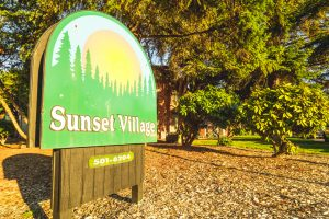 Sunset Village Entrance