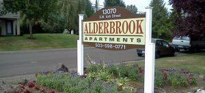 Alderbrook Sign