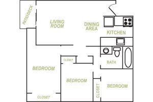 Allen Creek 3 Bedroom