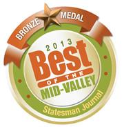 Best of Mid-Valley Bronze logo