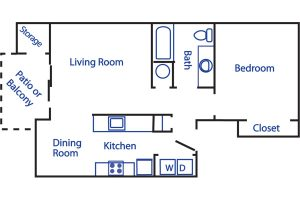 Boulder Creek 1 bed