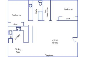 Brookshire 2 bedroom flat