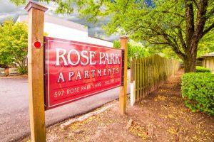 Rose Park Entrance