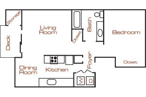 Fieldstone 1 bedroom