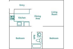 Francis Street floor plan