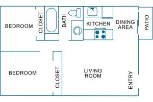 river run floor plan