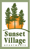 sunset village logo