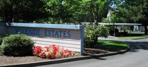 Woodside Estates Entrance